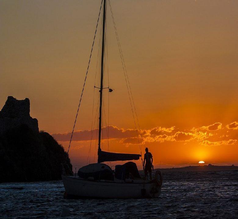 Sunset of Toroni Halkidiki